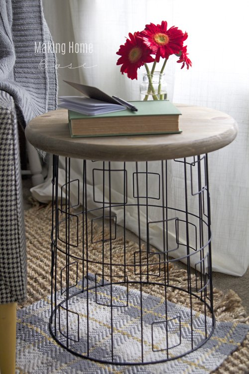 Laundry Basket to End Table