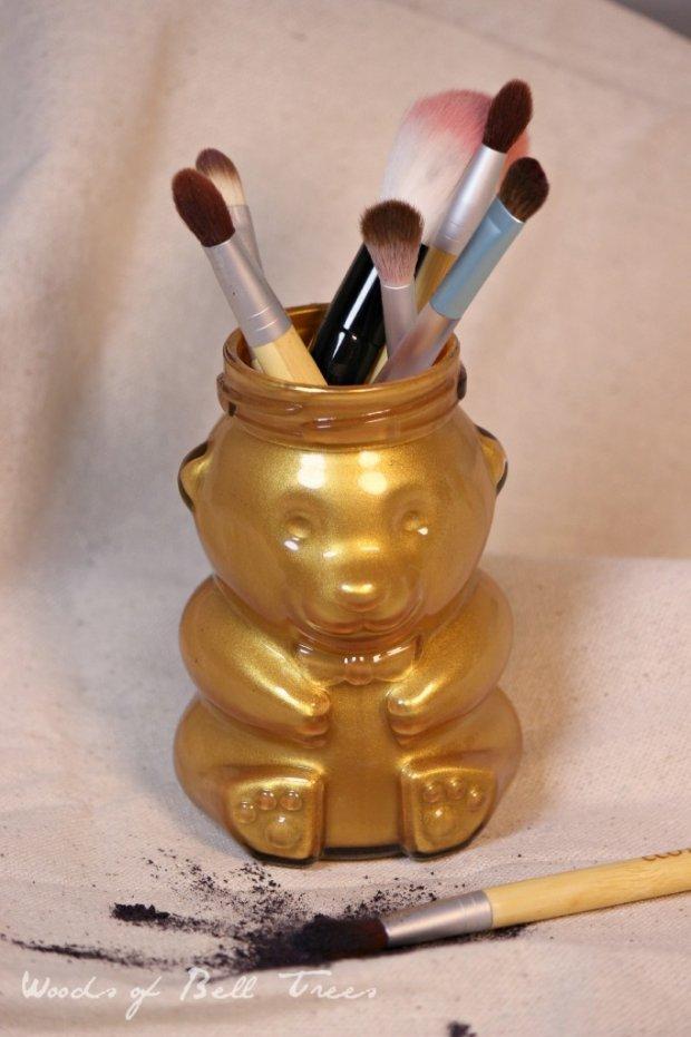 Upcycle Your Honey Bear Jar