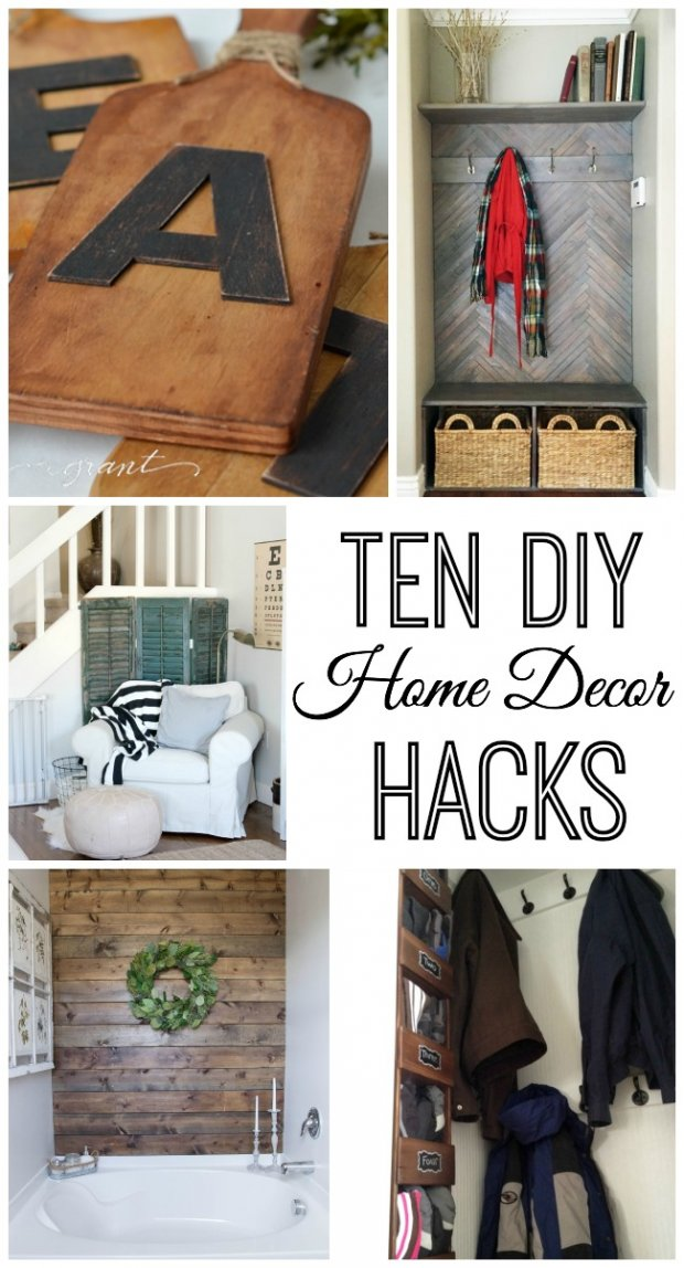 Do It Yourself Home Decorating Ideas: 10 Do It Yourself Home Decor Hacks