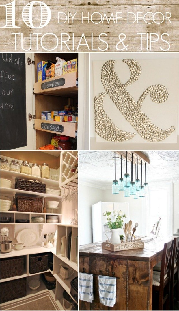 10 diy home decor tutorials tips home stories a to z for Home design ideas handmade
