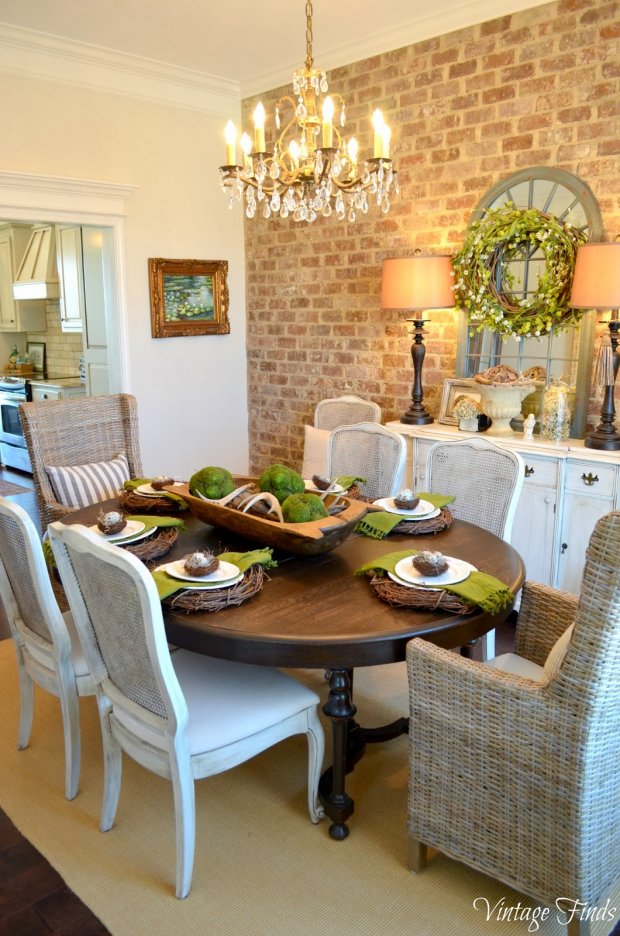 10 do it yourself decorating ideas home stories a to z for Home decor dining room