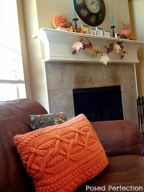 Upcycled Sweater Pillow Tutorial