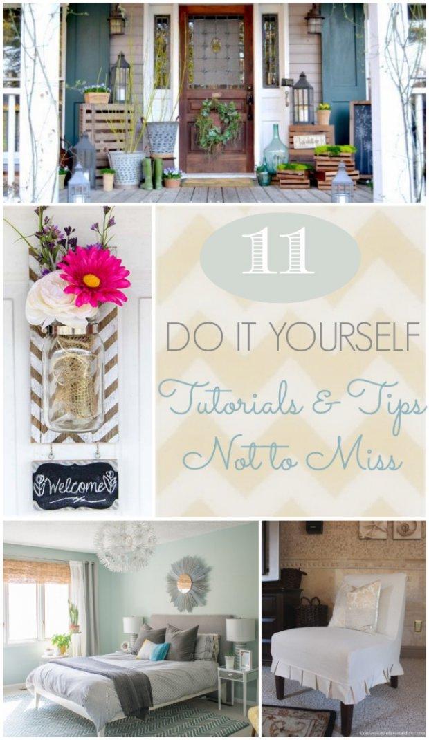 11 Do it Yourself Tutorials & Tips