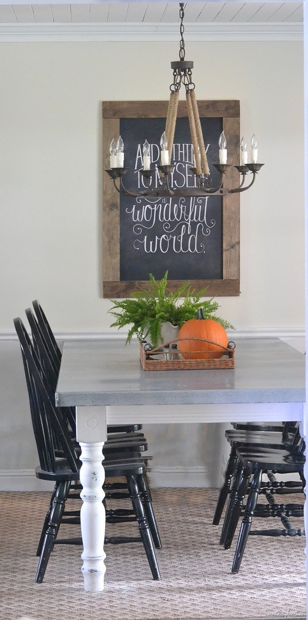 DIY Zinc Top Table Tutorial