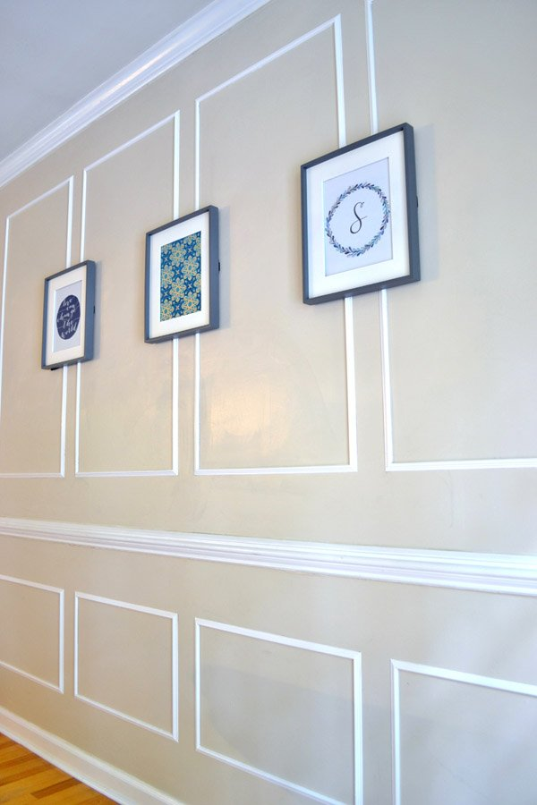 Picture Rail Molding Tutorial