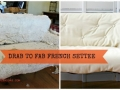 French Settee Before & After