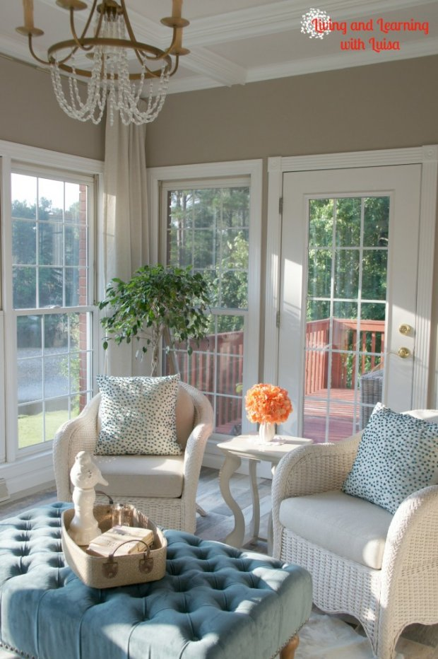 Sunroom Reveal