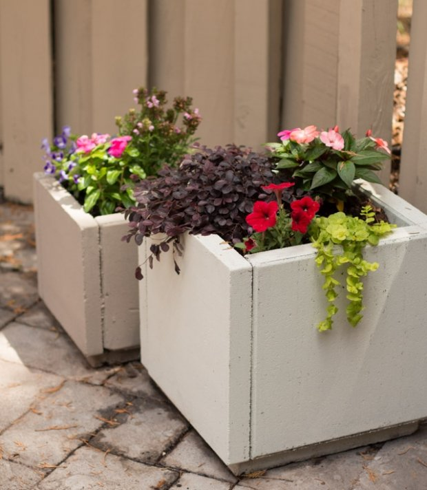 Build a Concrete Planter