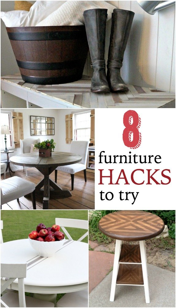 8 diy furniture hacks to try - home stories a to z