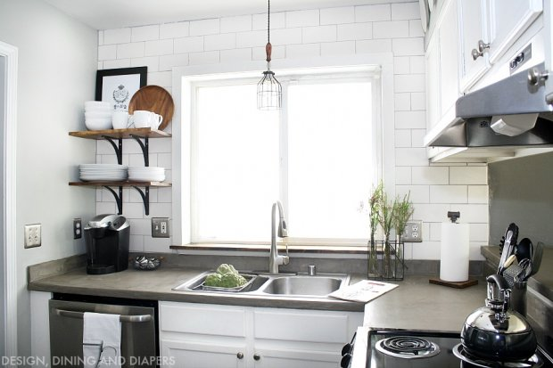 9 DIY Blogger Kitchen Makeovers - Home Stories A to Z