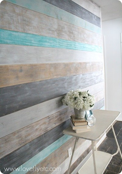 DIY Plank Wall Paint Tutorial