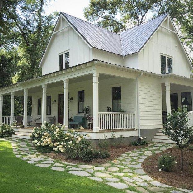 old farmhouse plans | old-salem-farmhouse-terry-kirkland ... |Old American Farmhouse Plans