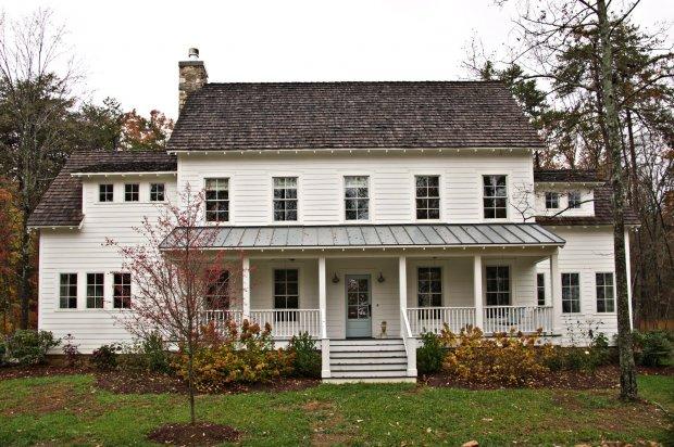 Classic White Farmhouse