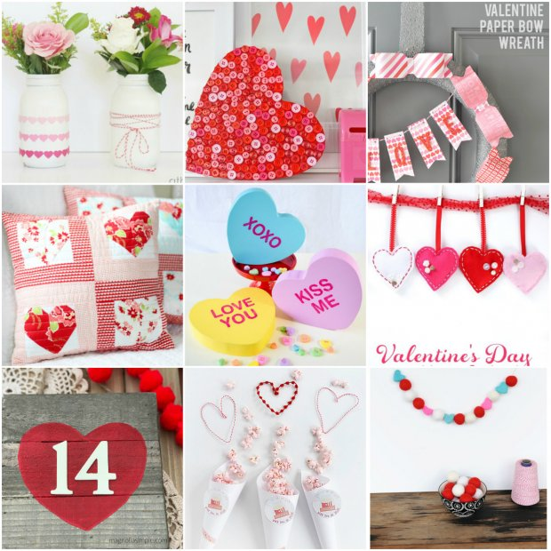 15 VALENTINE'S DAY CRAFT IDEAS