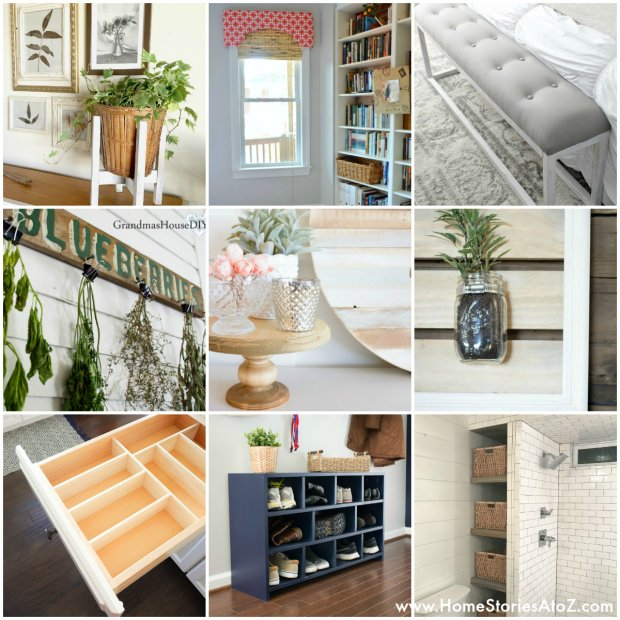 Building Projects - Best DIY of the Week {6} Home Stories A to Z