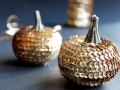 Sequin Pumpkin Tutorial