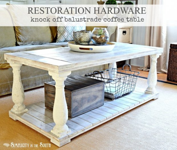 Restoration Hardware Knock off Table