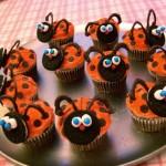 Valentine's Ladybug Cupcakes