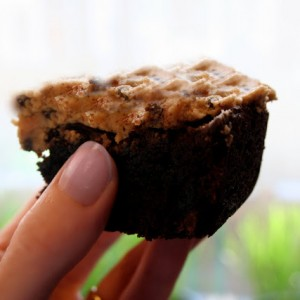 chocolate cookie dough brownie