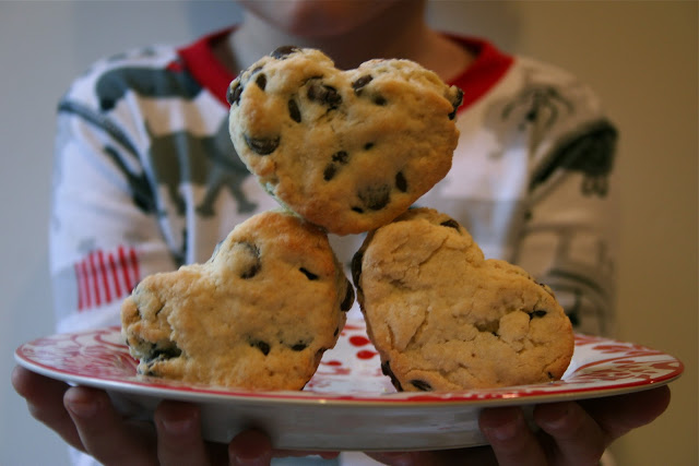 valentine's scones