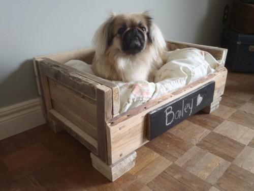 Dog Bed Pallet