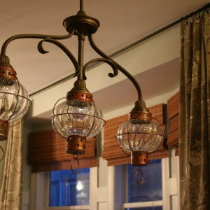 diy lantern light