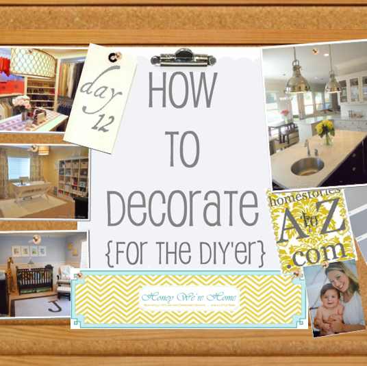 How To Decorate Series {day 12}: Decorating With Flowers