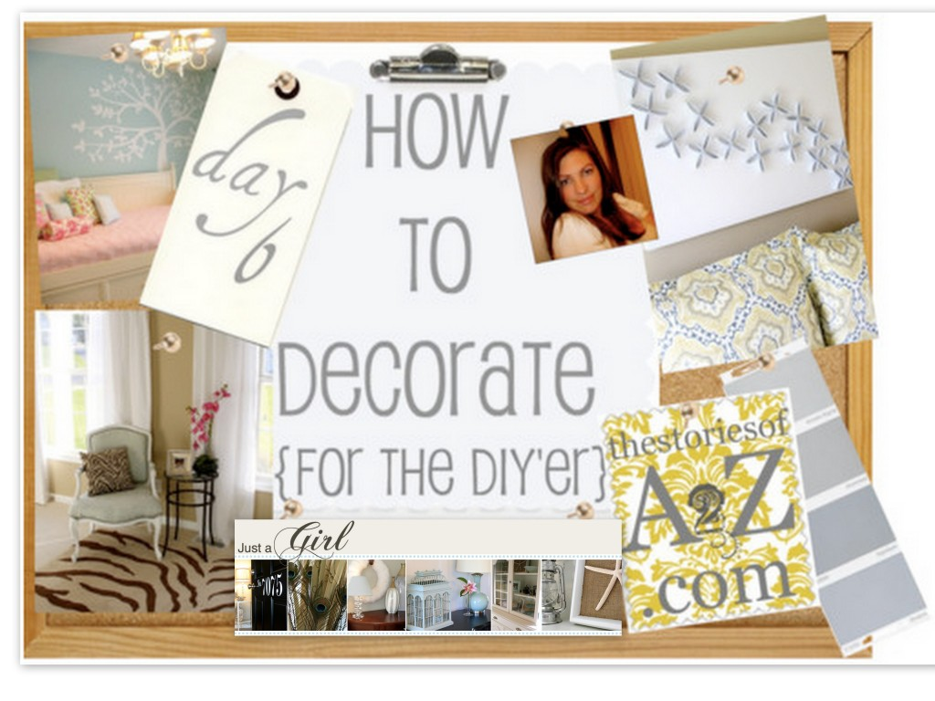 just a girl blog, how to decorate