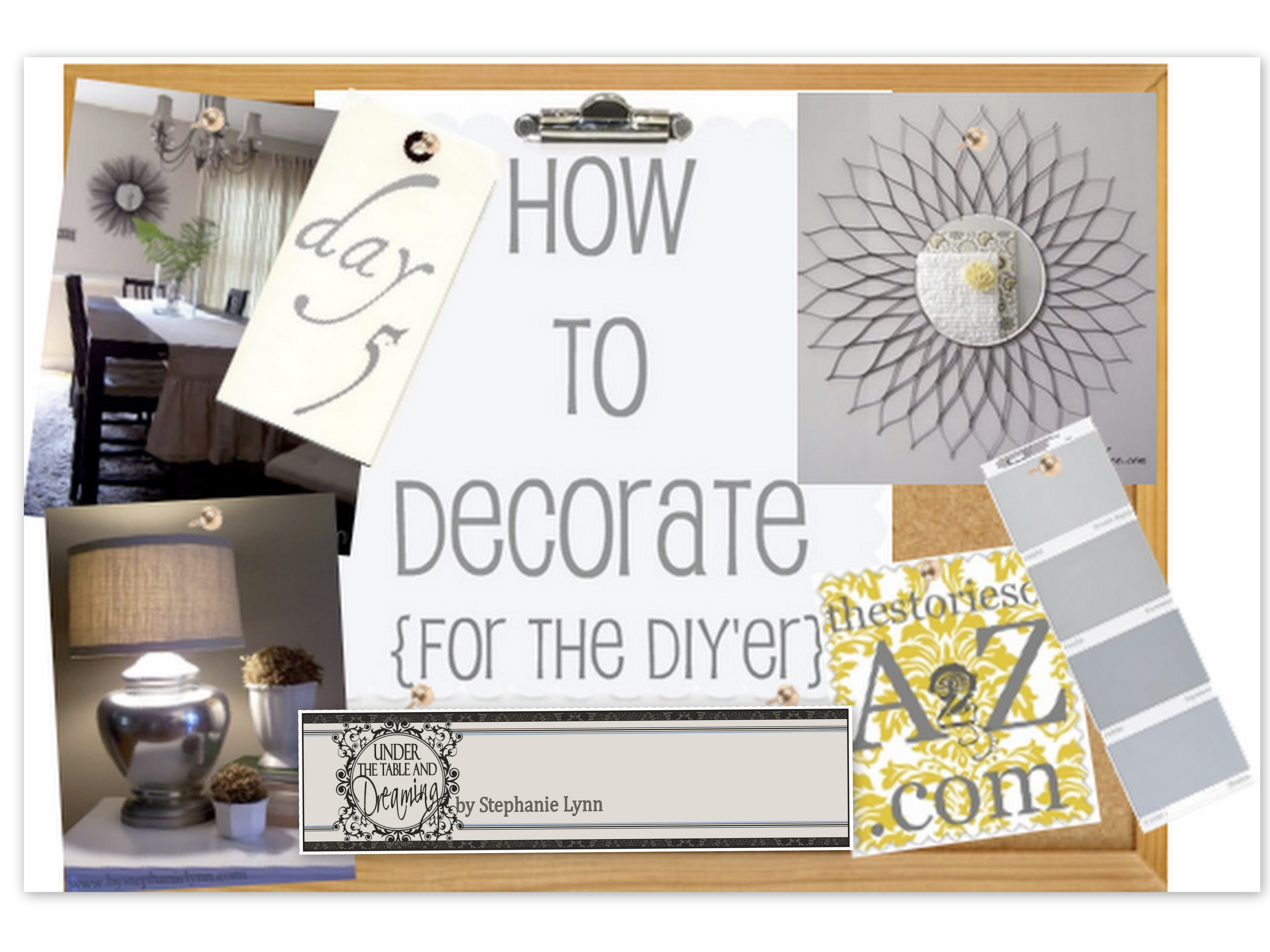 How To Decorate Series {day 5}: 4 Practical Tips By Under