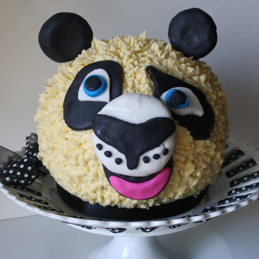 How To Make A Kung Fu Panda Birthday Cake