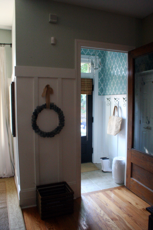 decorate entryway