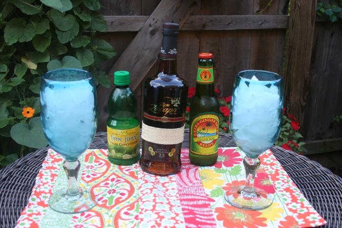 dark & stormy, zacapa rum