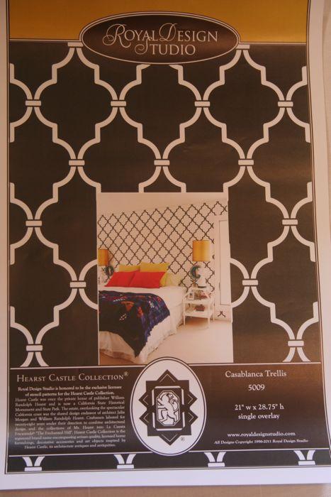 Royal Design Studio Stenciled Curtains {Knock-off Ballard Designs ...