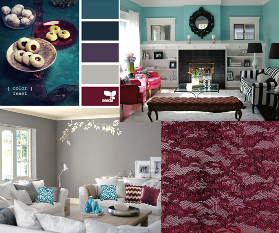 How to find color palette inspiration color palette - Jewel tones color palette ...