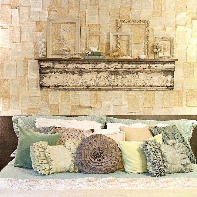 Inspiration file vintage master bedroom by a well dressed for Vintage master bedroom decorating ideas
