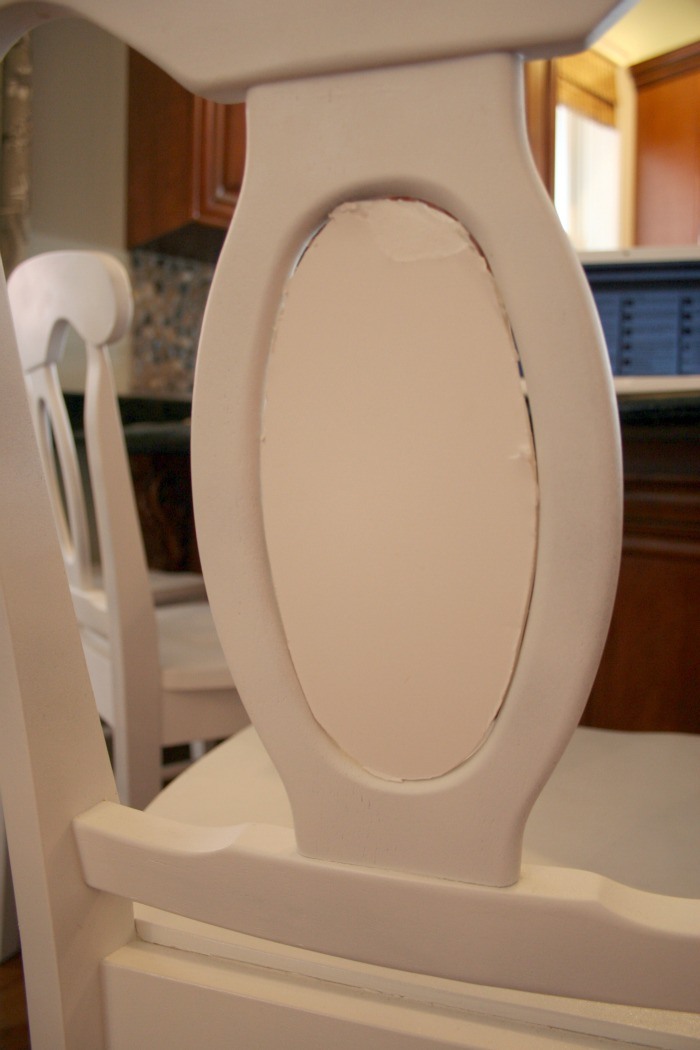 How To Upholster Chair Backs With Foamboard