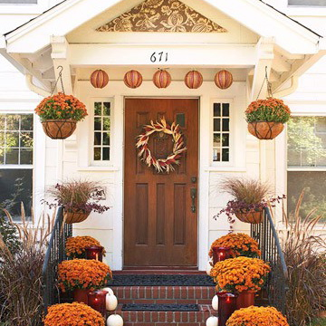 fall front door decorationsFall Front Door Decor fall ideas  Home Stories A to Z