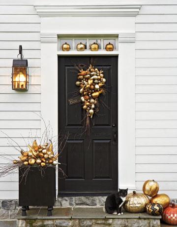 fall porch