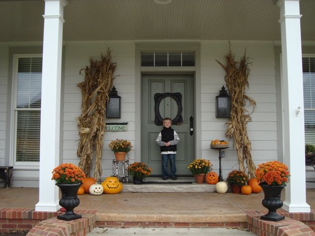 22 fall front porch ideas veranda - Fall front porch ideas ...