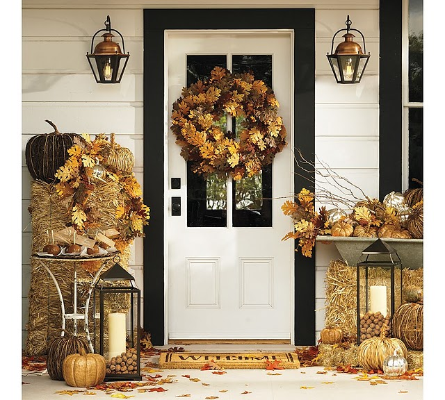 22 Fall Front Porch Ideas Veranda Home Stories A To Z: beautiful fall front porches