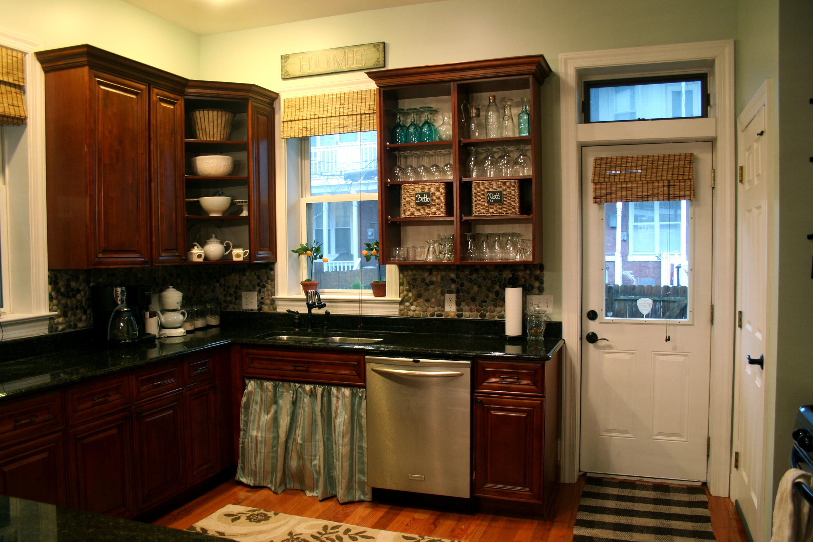 Kitchen living home stories a to z for Off the shelf cabinets