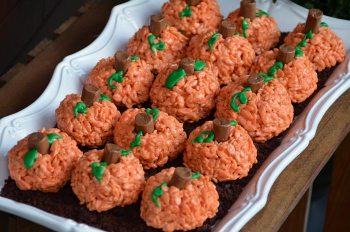 Pumpkin Rice Krispies Treats - Home Stories A to Z