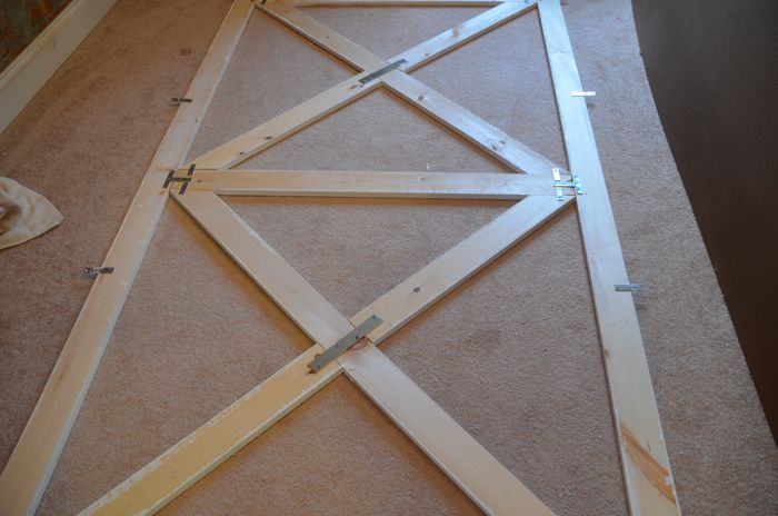 How To Build A Barn Door Headboard Diy Headboard Home