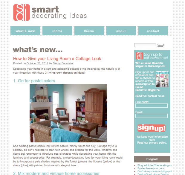 smart decorating