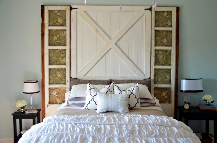barn door head board 7