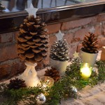 Tutorials and Tips Link Party {37} {tree craft} {pine cones}