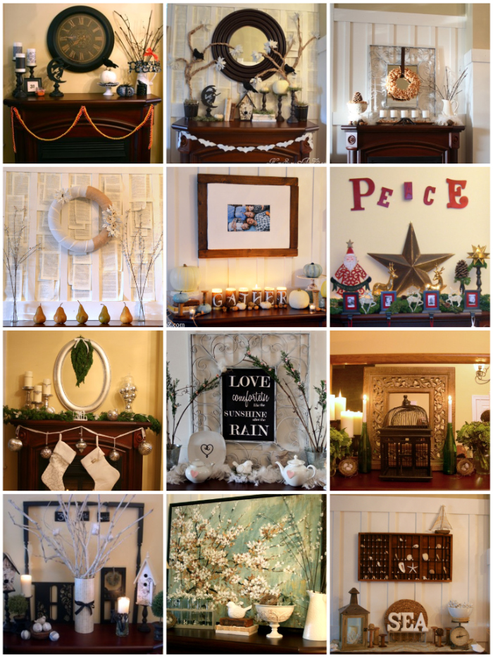 how to decorate a mantel home stories a to z