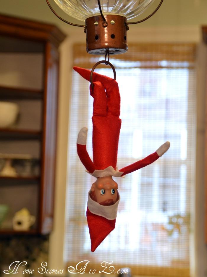 Christmas Light Hanging Pole