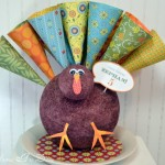 Turkey Paper Cone Treats {cone paper}
