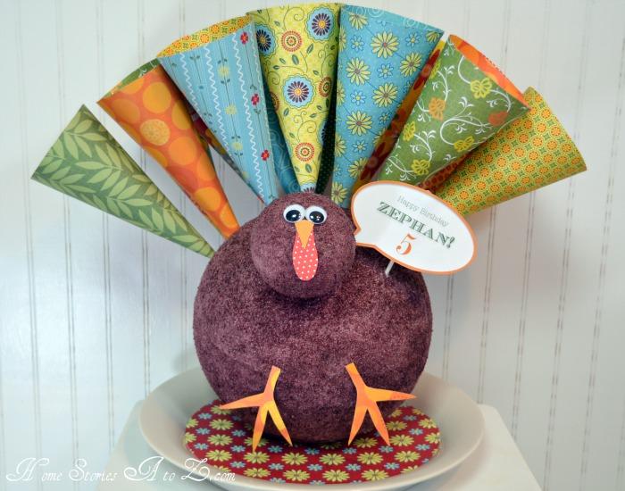 paper cone turkey